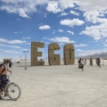 Burning Man Festival in Nevada D...