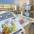 Exhibition Charlie Hebdo at Quim...