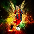 Lionel Messi Desktop Wallpapers