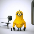 Movie Heroes as Minions