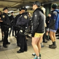 No Pants Subway Ride 2011 in NYC