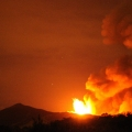 Etna Volcano Eruption 2011