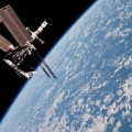 The International Space Station ...