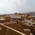Masada Desert Fortress in Israel