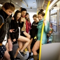 No Pants Skytrain Ride 2015 in V...
