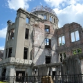 Walk around Genbaku Dome in Hiro...