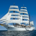 Modern Ship Sea Cloud II With a ...