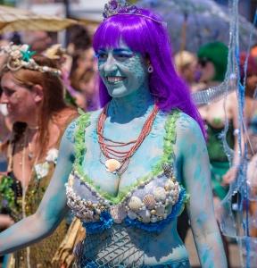 2016 Coney Island Mermaid Parade in NYC