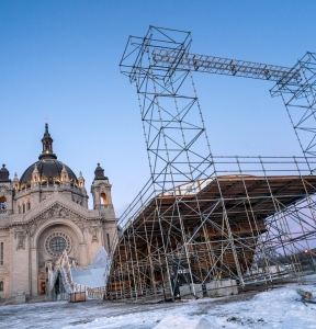 Red Bull Crashed Ice 2018 in St Paul, Minnesota