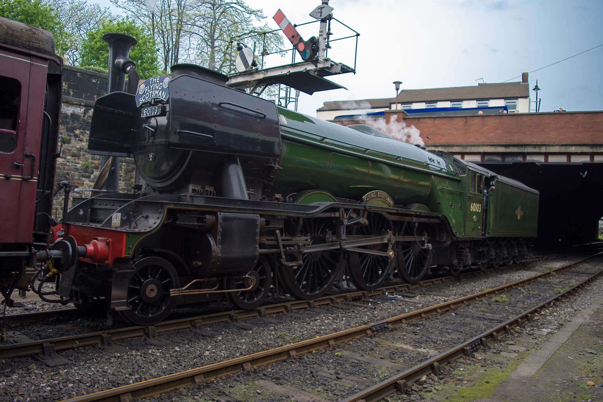 flying scotsman8 Most Famous Steam Train   Flying Scotsman