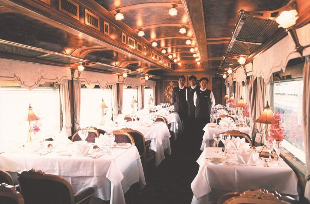 oriental express10 Mystical Landscapes on Board of Eastern & Oriental Express