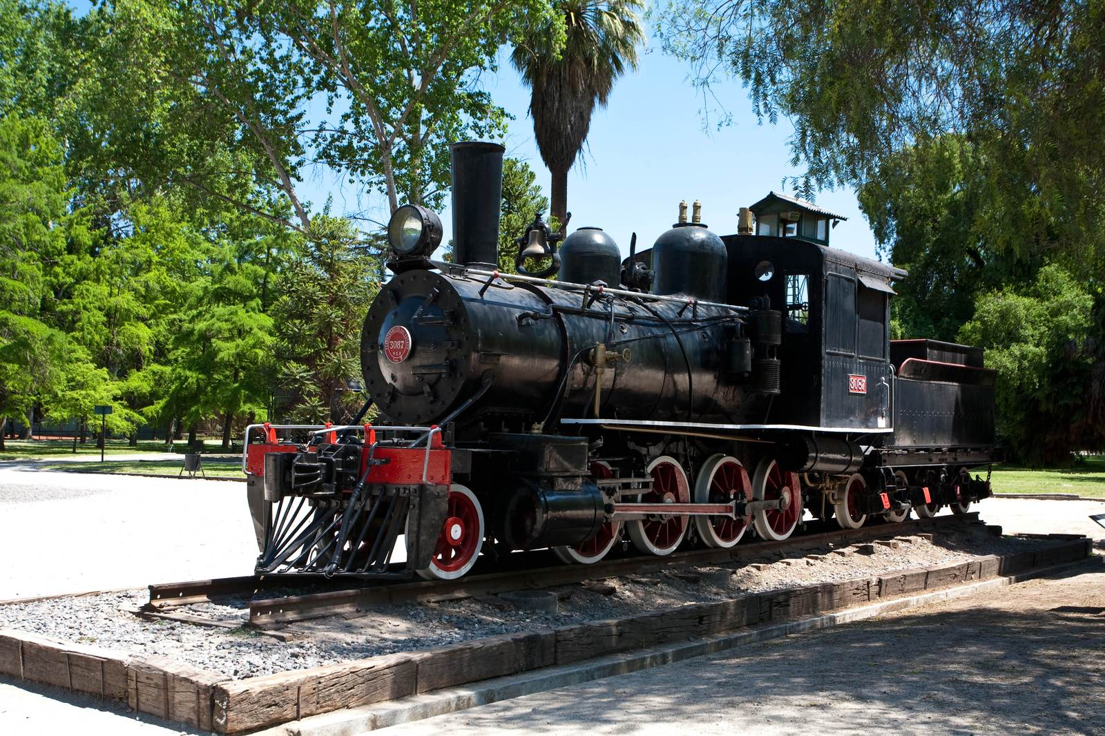 railway museum1 South American Santiago Railway Museum in Chile