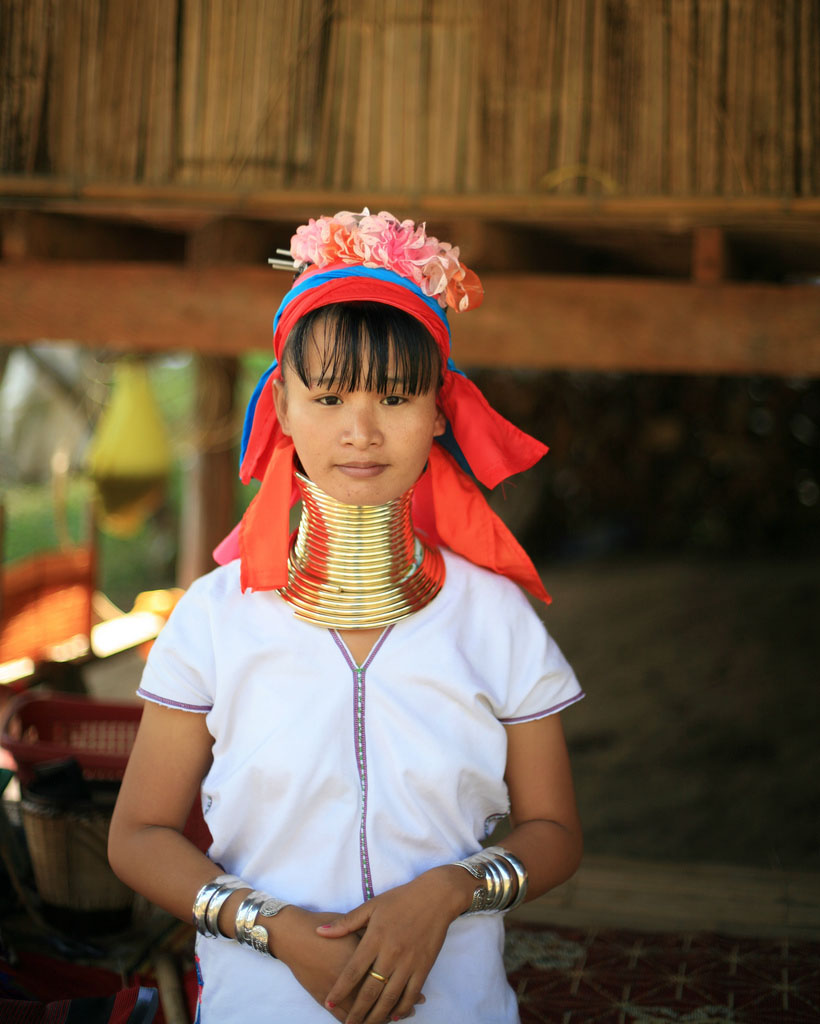 kayan Long Necked Padaung Tribe