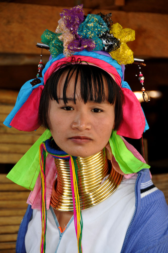 kayan1 Long Necked Padaung Tribe