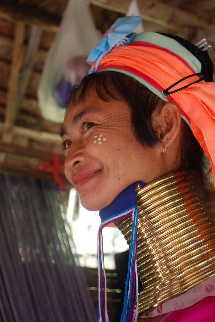 kayan3 Long Necked Padaung Tribe