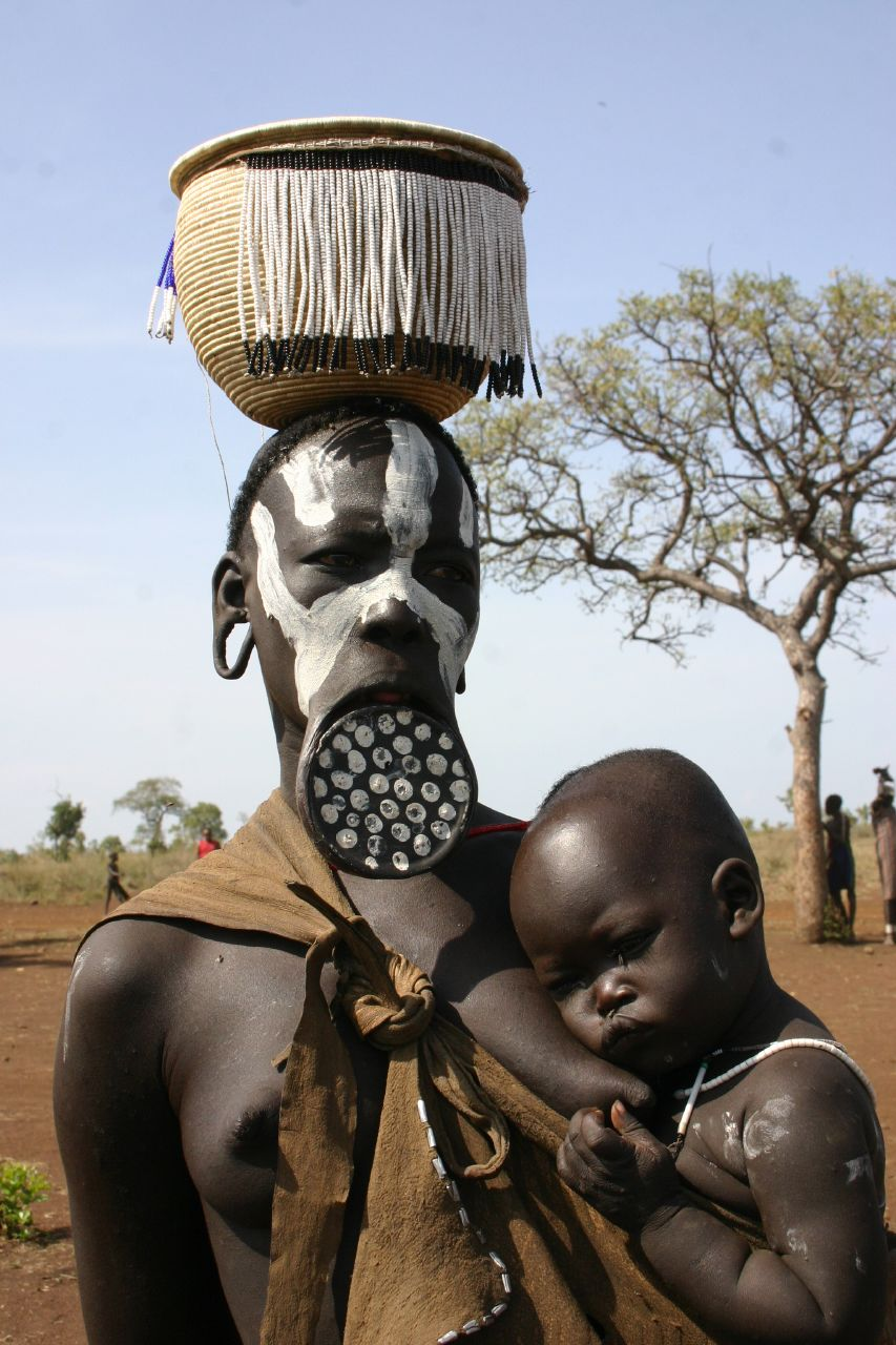 mursi tribe ethiopia 11 The Mursi Tribe Of Ethiopia