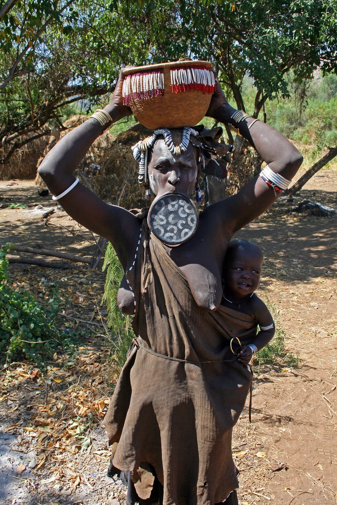 mursi tribe ethiopia 8 The Mursi Tribe Of Ethiopia