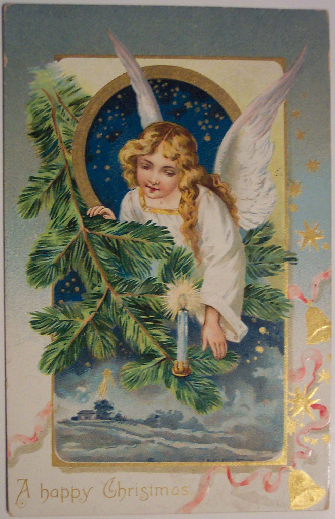christmas card10 Best Vintage Christmas Card and Wishes