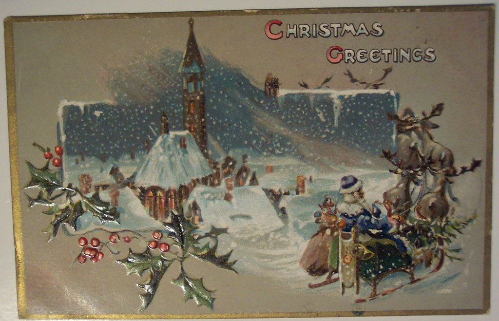 christmas card11 Best Vintage Christmas Card and Wishes