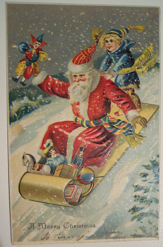 christmas card2 Best Vintage Christmas Card and Wishes