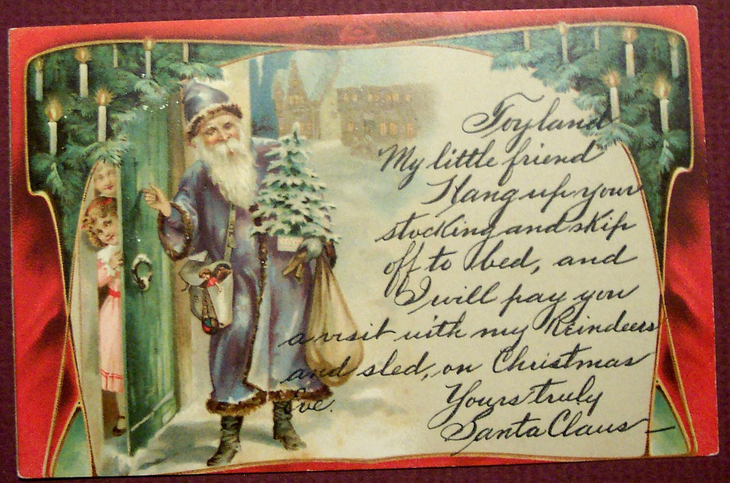 christmas card22 Best Vintage Christmas Card and Wishes