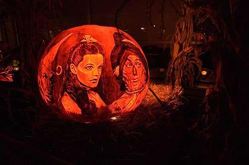 Funny Pumpkin Faces Creations Darth Vader Tattoo