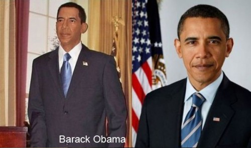 barack obama wax 500x295 Celebrity Wax Figures Fail