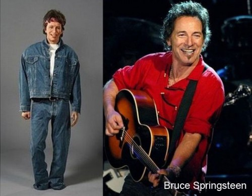 bruce springsteen wax 500x388 Celebrity Wax Figures Fail