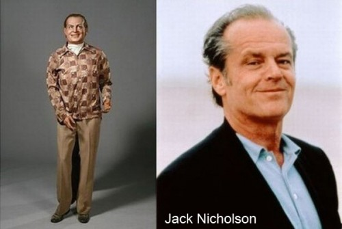 jack nicholson wax 500x335 Celebrity Wax Figures Fail