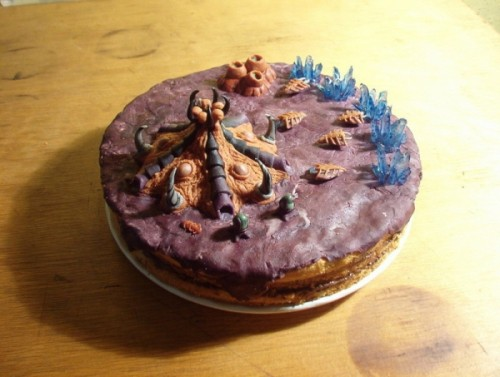 My Starcraft Cake