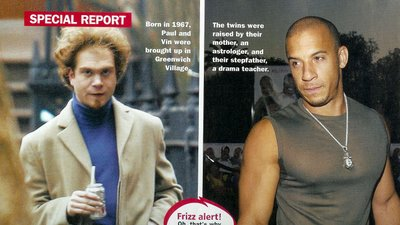 Paul Vincent Vin Diesel's Twin http://wiki.answers.com/Q/Are_there_any_pictures_of_Vin_Diesel's_twin_Brother