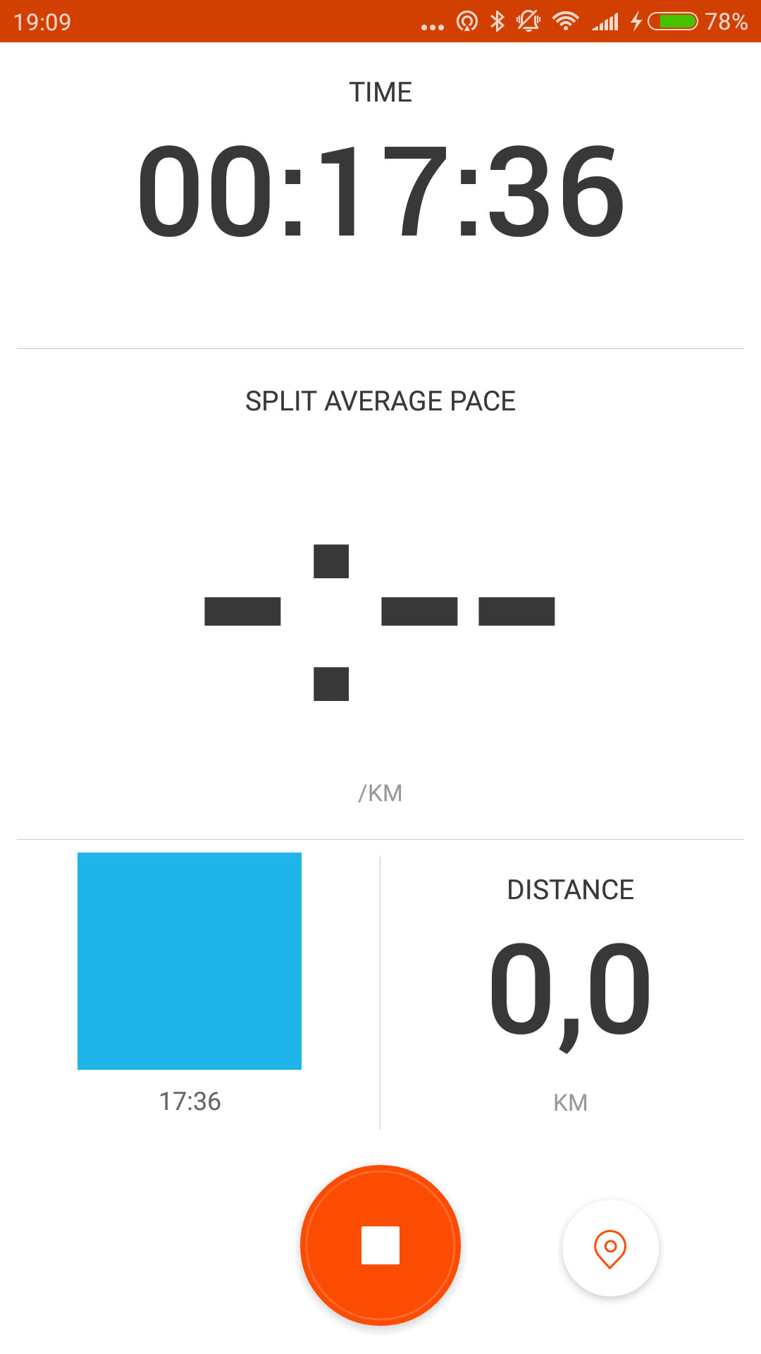 strava activity screen