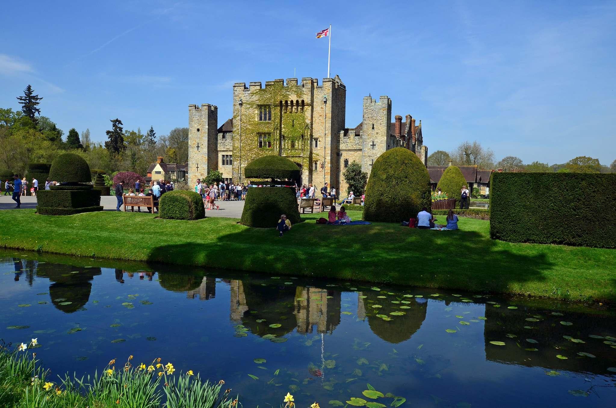 hever castle Tulip Festival  at Hever Castle, Kent