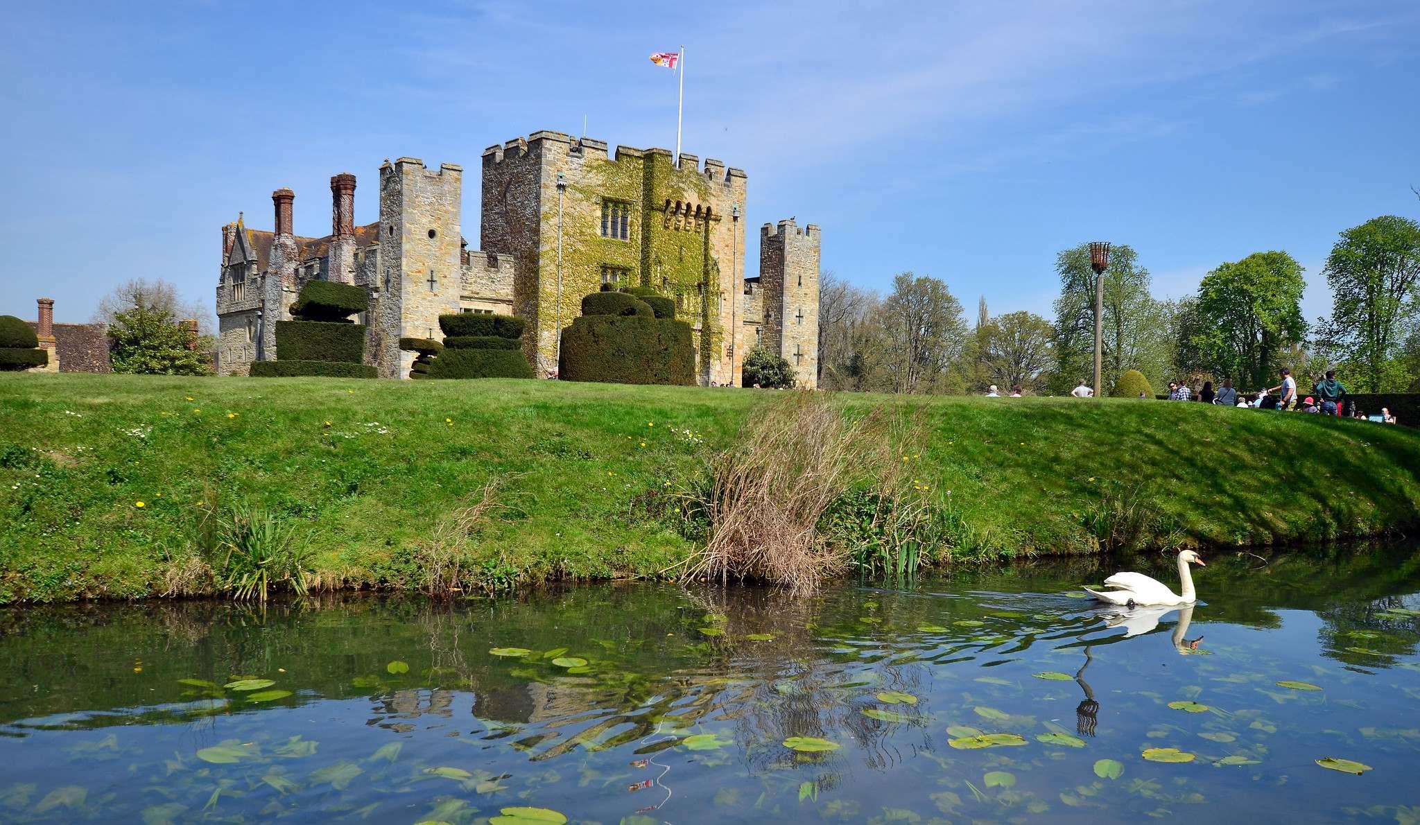 hever castle1 Tulip Festival  at Hever Castle, Kent