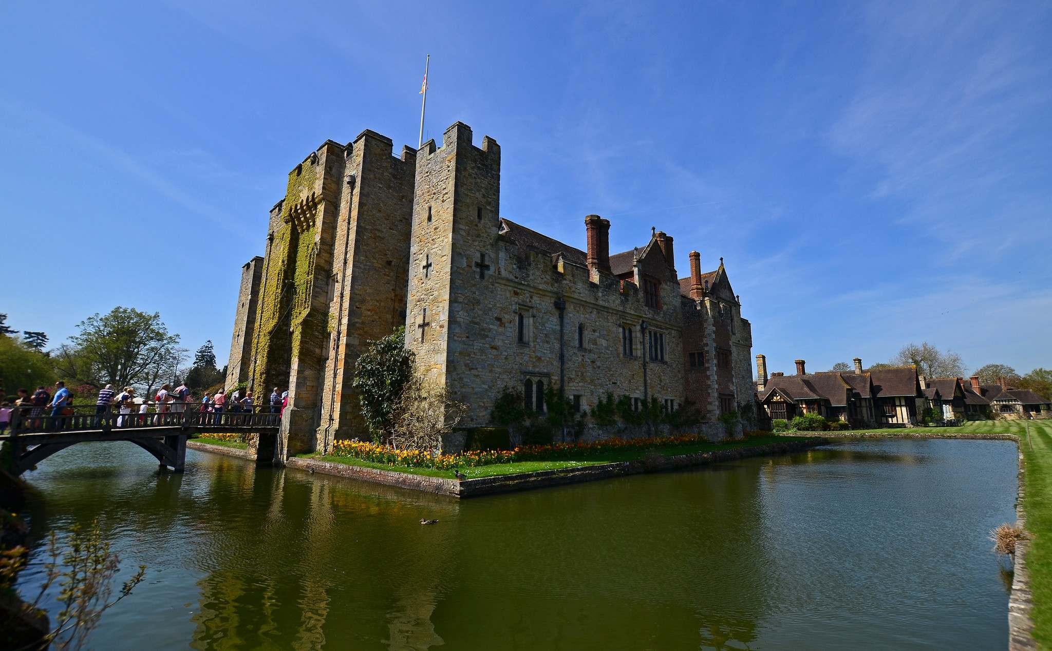 hever castle2 Tulip Festival  at Hever Castle, Kent