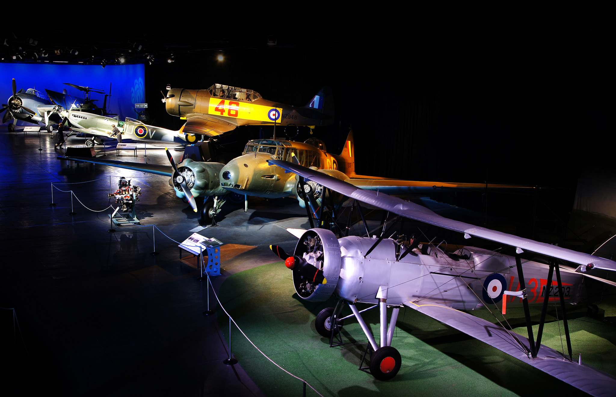 air force nz1 Air Force Museum of New Zealand   Must See Attraction