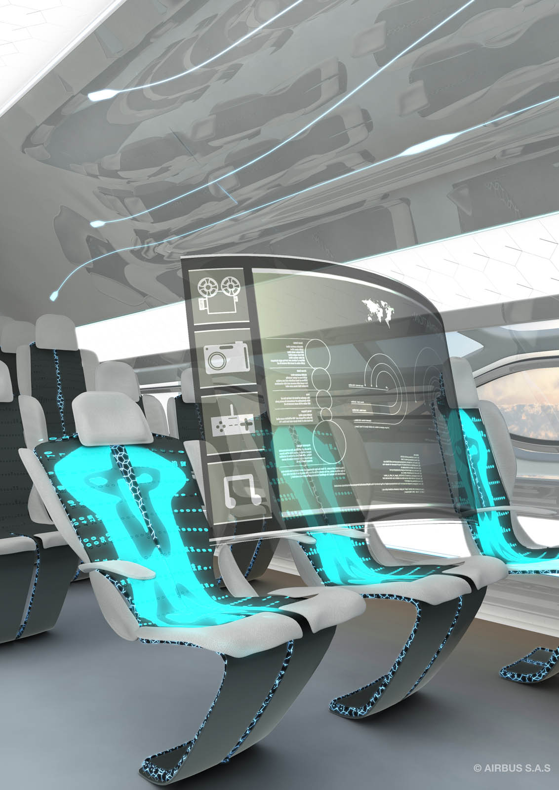airbus jets1 Airbus Future Vision of Flying in 2050