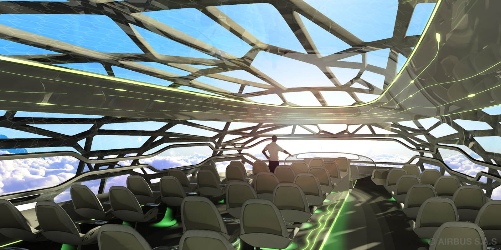 airbus jets2 Airbus Future Vision of Flying in 2050