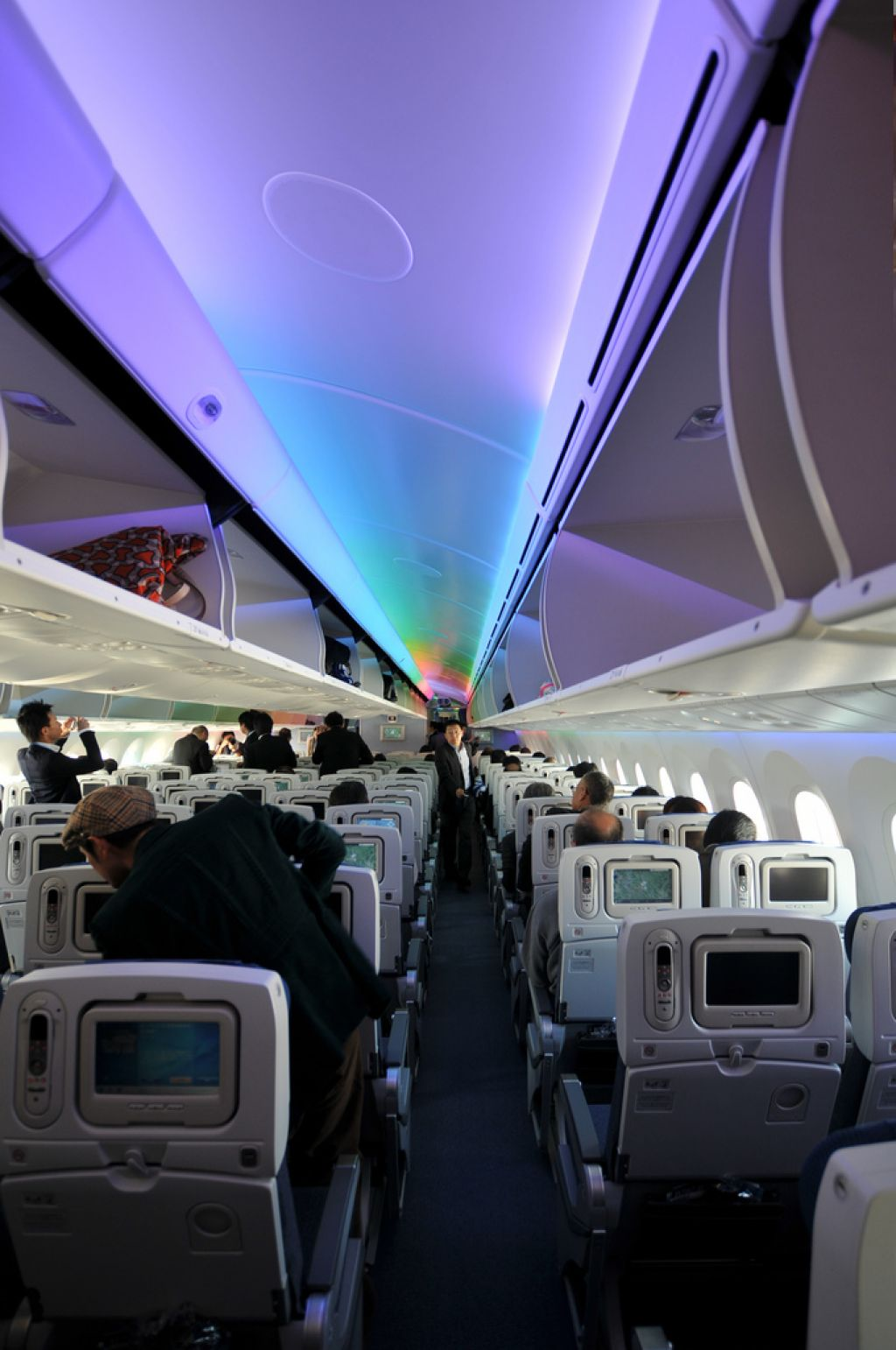 dream liner 7871 Inside Boeing Dreamliner 787