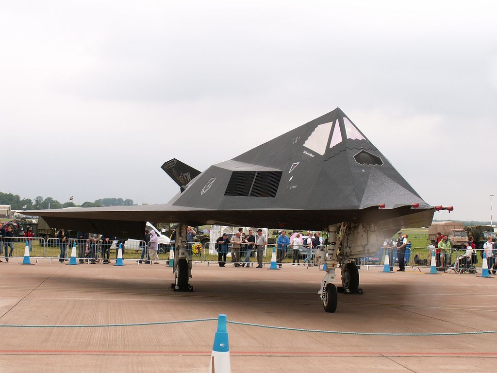 f 1177 Lockheed F 117 Nighthawk Still in Service