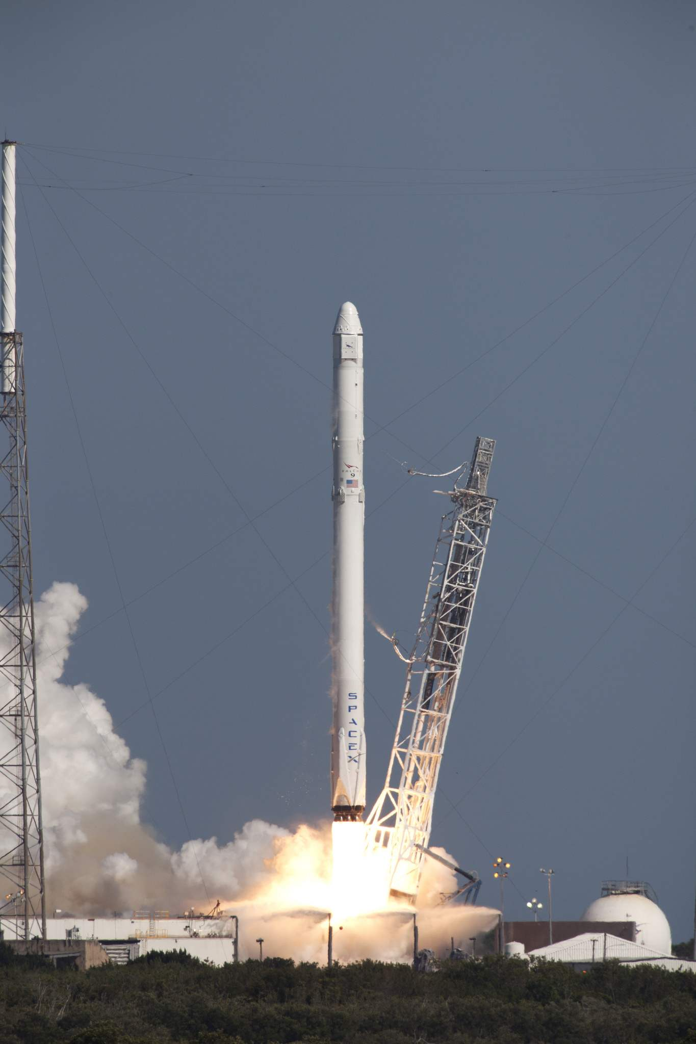 falcon 9 rocket3 SpaceX CRS 8 Mission by Elon Musk