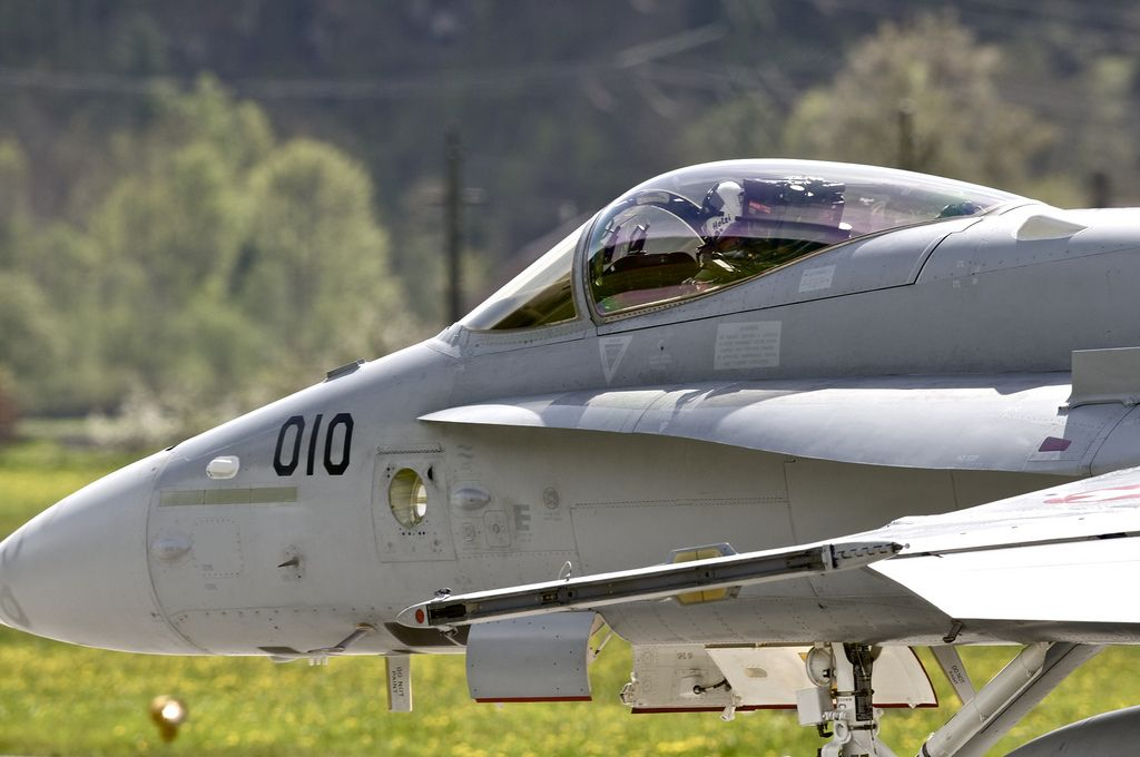 airforce base18 The Swiss Airforce from Meiringen Airbase Securing World Economic Forum 2013