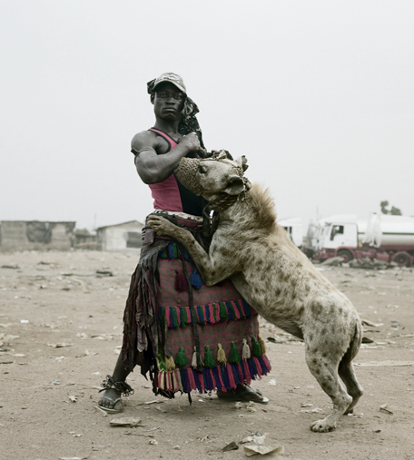 hyena1 The Nigerian Hyena Men   Do You Want a Good GuardDog ?