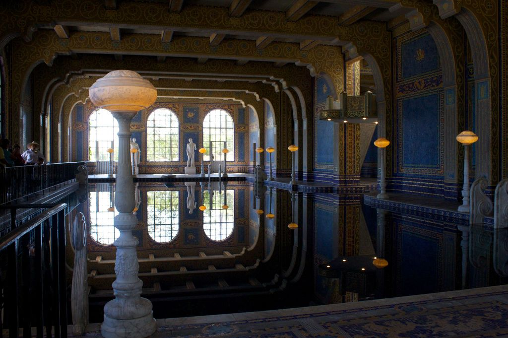 hearst castle1 Absolutely Breathtaking Pools in Hearst Castle