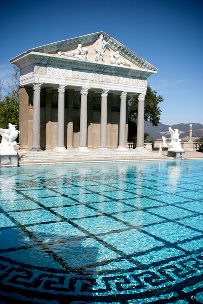 hearst castle11 Absolutely Breathtaking Pools in Hearst Castle