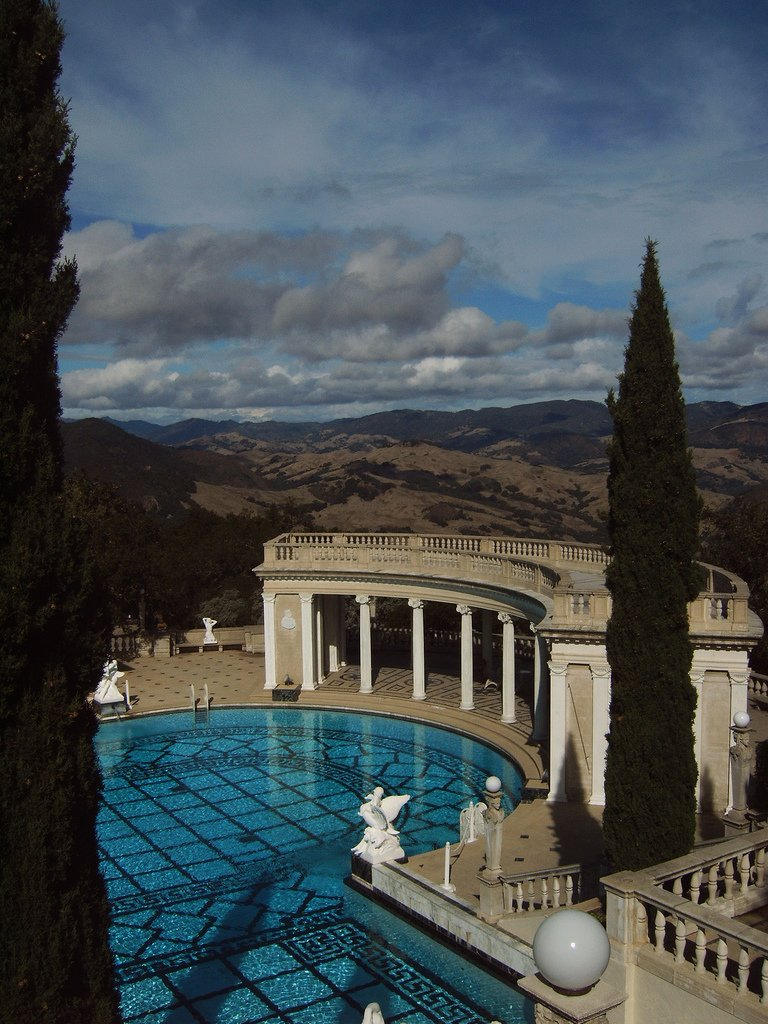 hearst castle13 Absolutely Breathtaking Pools in Hearst Castle