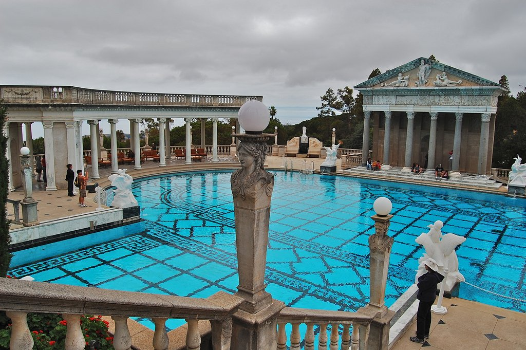 hearst castle14 Absolutely Breathtaking Pools in Hearst Castle
