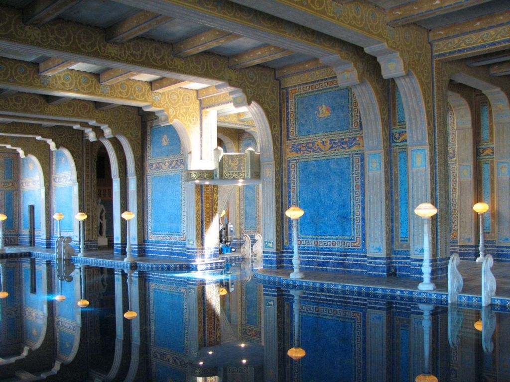 hearst castle2 Absolutely Breathtaking Pools in Hearst Castle