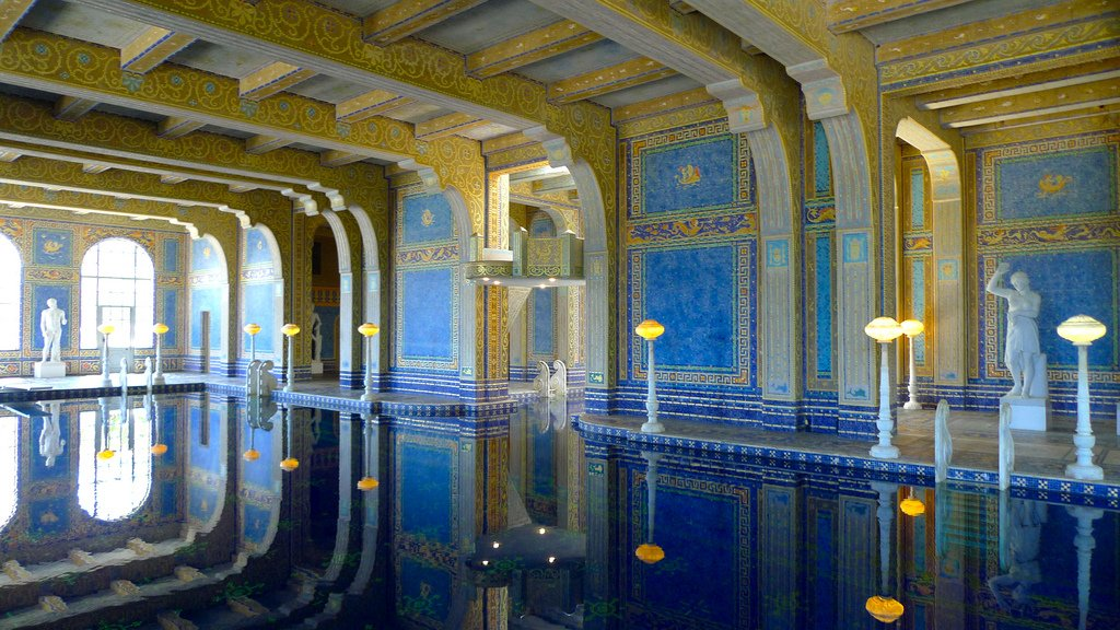 hearst castle4 Absolutely Breathtaking Pools in Hearst Castle