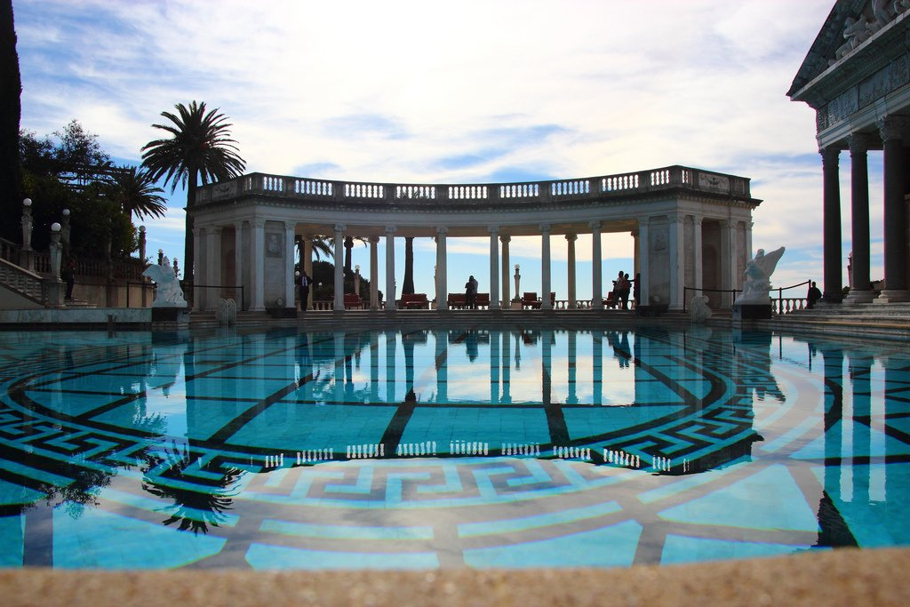 hearst castle9 Absolutely Breathtaking Pools in Hearst Castle